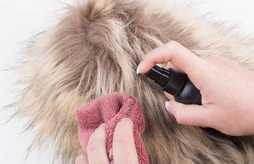 How to clean fur